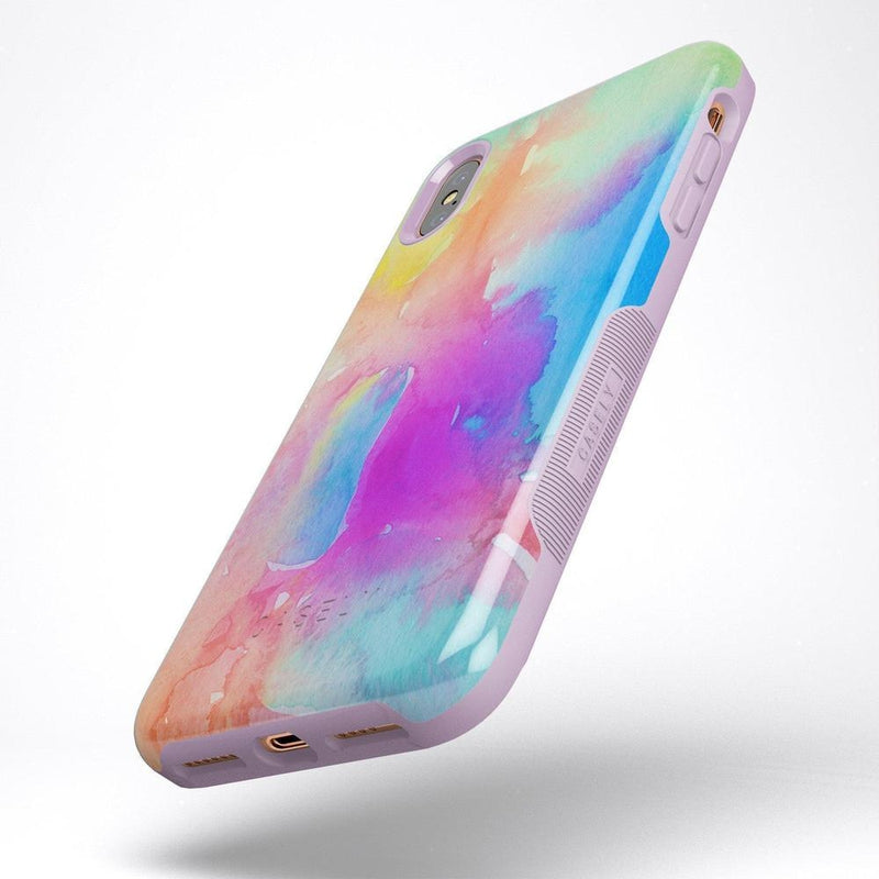 Cute Rainbow Marble Case iPhone Case Get.Casely
