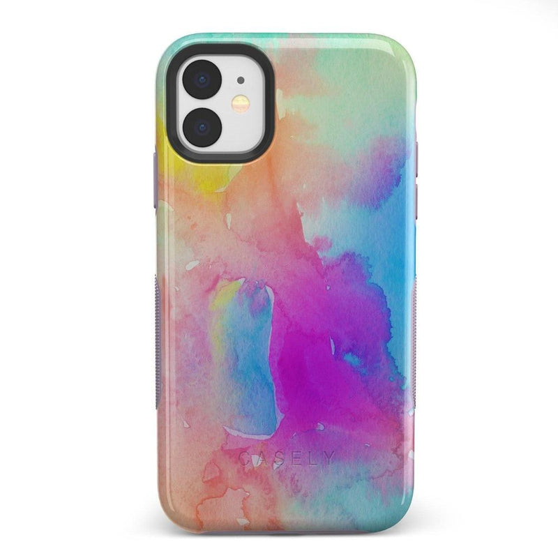 Cute Rainbow Marble Case iPhone Case Get.Casely Bold iPhone 11