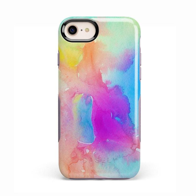 Cute Rainbow Marble Case iPhone Case Get.Casely Bold iPhone 8