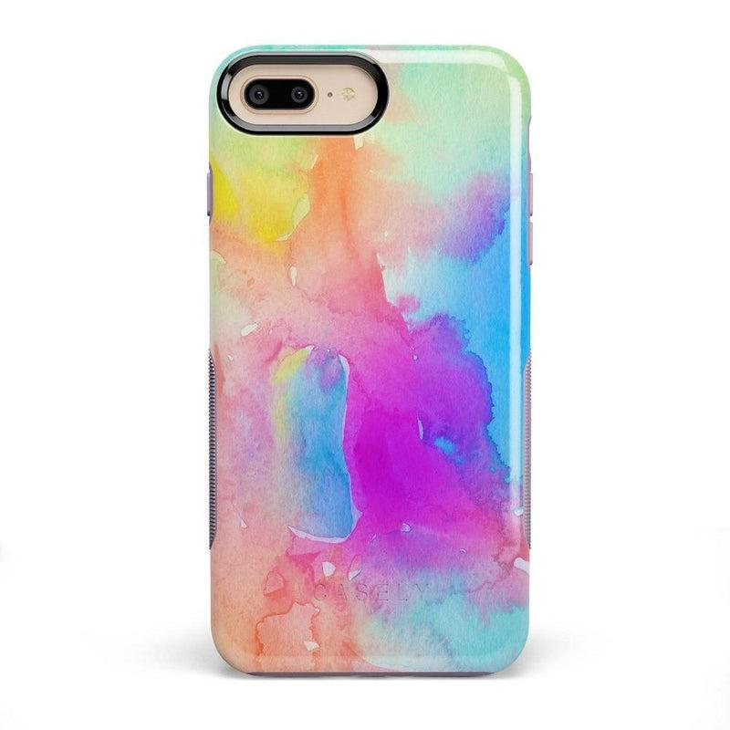 Cute Rainbow Marble Case iPhone Case Get.Casely Bold iPhone 8 Plus