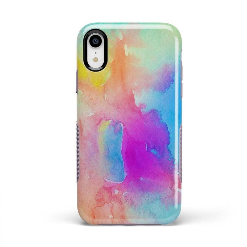 Cute Rainbow Marble Case iPhone Case Get.Casely Bold iPhone XR
