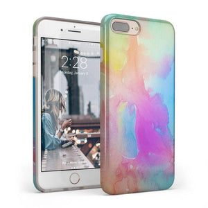 Cute Rainbow Marble Case iPhone Case Get.Casely Classic iPhone 6/6s Plus