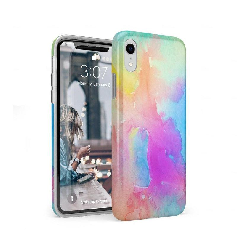 Cute Rainbow Marble Case iPhone Case Get.Casely Classic iPhone XR