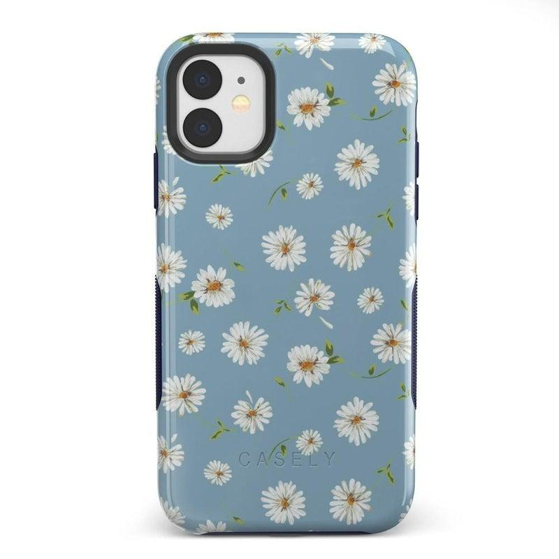 Daisy Daydream Baby Blue Floral Case iPhone Case Get.Casely Bold iPhone 11