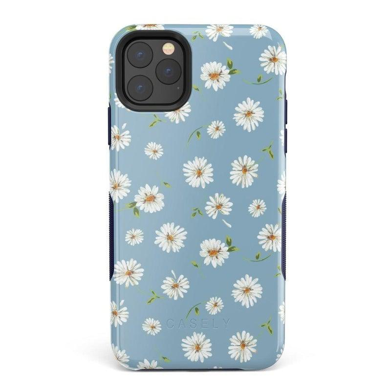 Daisy Daydream Baby Blue Floral Case iPhone Case Get.Casely Bold iPhone 11 Pro Max