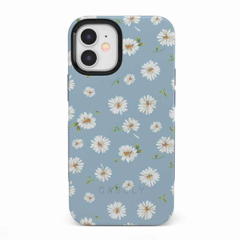 Daisy Daydream Baby Blue Floral Case iPhone Case get.casely Bold iPhone 12 Mini