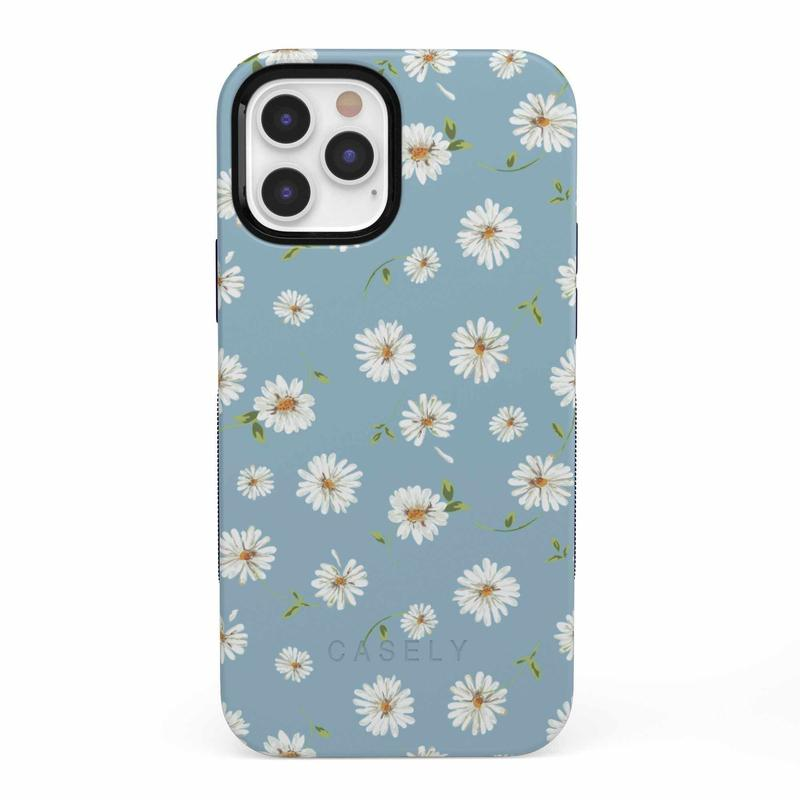 Daisy Daydream Baby Blue Floral Case iPhone Case get.casely Bold iPhone 12 Pro
