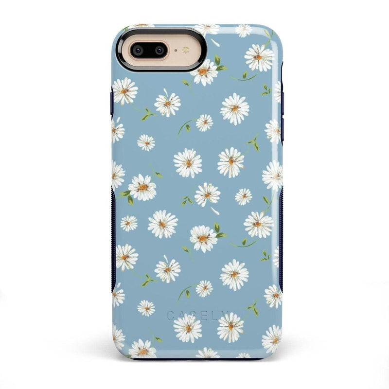 Daisy Daydream Baby Blue Floral Case iPhone Case Get.Casely Bold iPhone 8 Plus