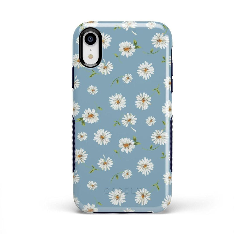 Daisy Daydream Baby Blue Floral Case iPhone Case Get.Casely Bold iPhone XR