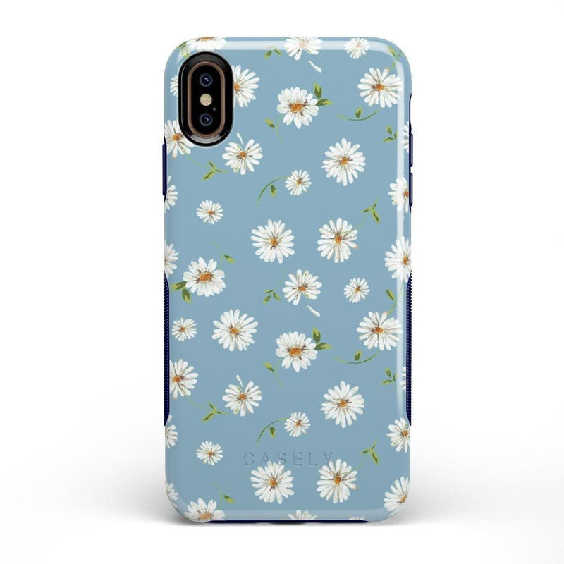 Daisy Daydream Baby Blue Floral Case iPhone Case Get.Casely Bold iPhone XS Max