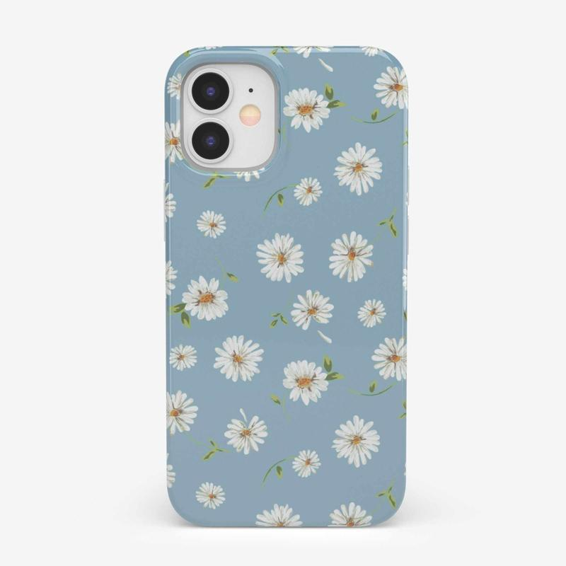 Daisy Daydream Baby Blue Floral Case iPhone Case get.casely Classic iPhone 12 Mini