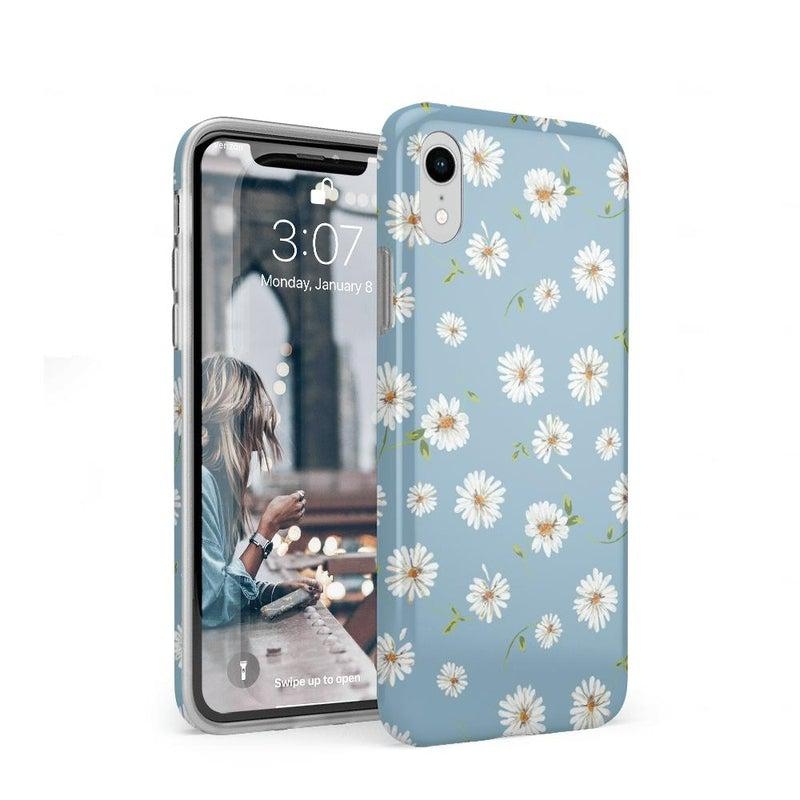 Daisy Daydream Baby Blue Floral Case iPhone Case get.casely Classic iPhone XR
