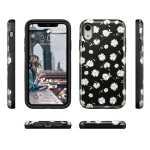 Daisy Daydream Black Floral Case iPhone Case Get.Casely