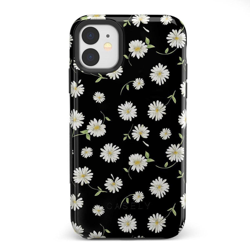 Daisy Daydream Black Floral Case iPhone Case Get.Casely Bold iPhone 11