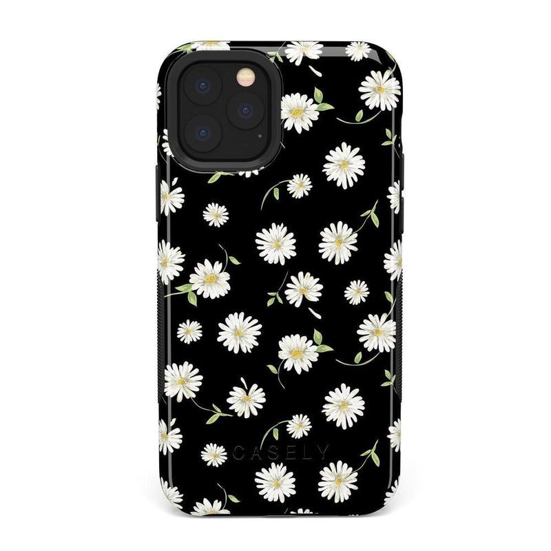 Daisy Daydream Black Floral Case iPhone Case Get.Casely Bold iPhone 11 Pro