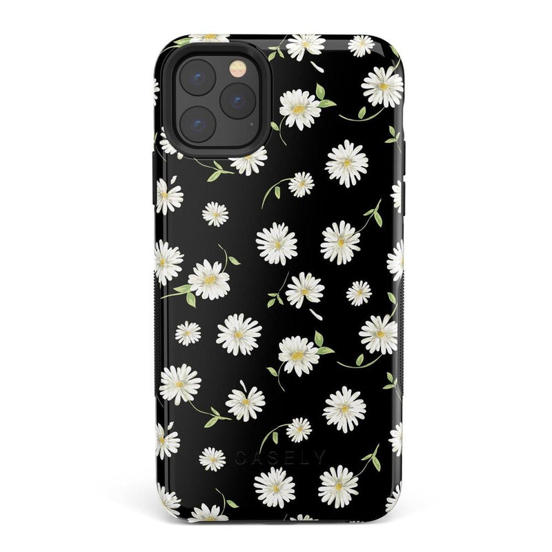 Daisy Daydream Black Floral Case iPhone Case Get.Casely Bold iPhone 11 Pro Max