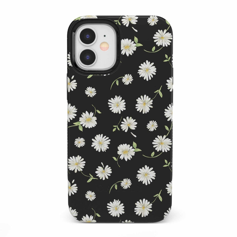 Daisy Daydream Black Floral Case iPhone Case get.casely Bold iPhone 12 Mini