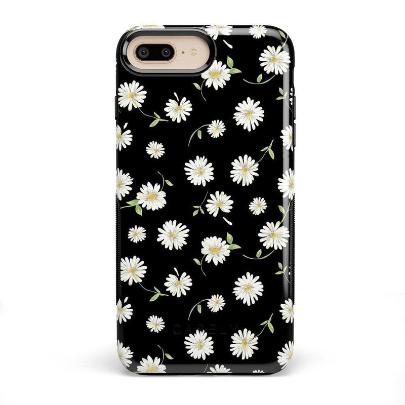 Daisy Daydream Black Floral Case iPhone Case Get.Casely Bold iPhone 8 Plus