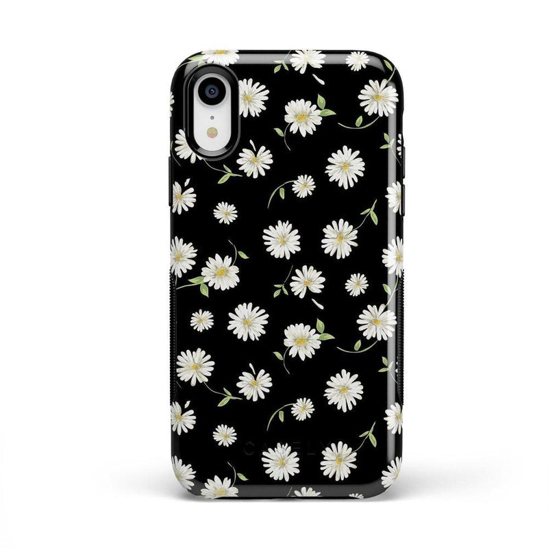 Daisy Daydream Black Floral Case iPhone Case Get.Casely Bold iPhone XR