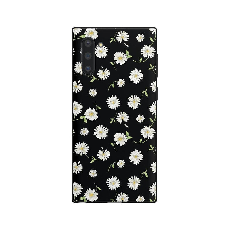 Daisy Daydream Black Floral Case iPhone Case Get.Casely Classic Galaxy Note 10 Plus