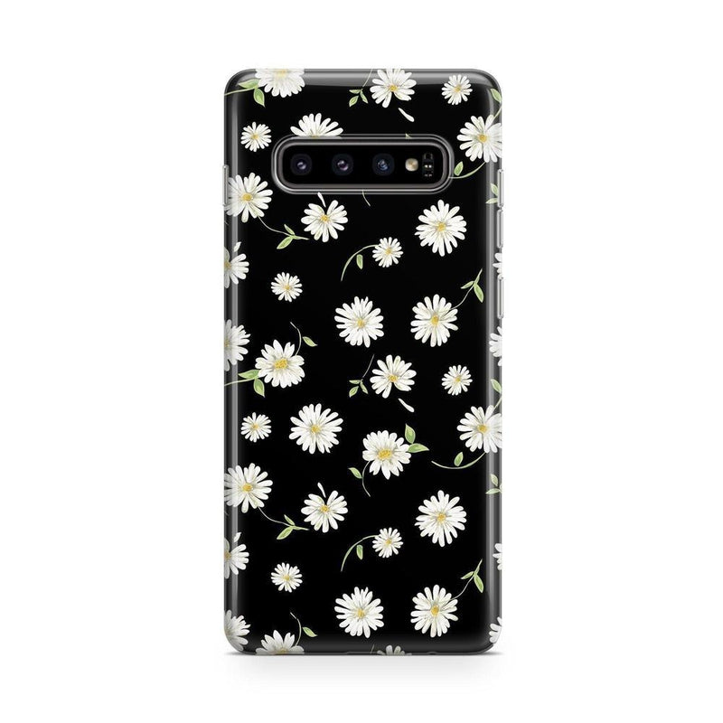 Daisy Daydream Black Floral Case iPhone Case Get.Casely Classic Galaxy S10 Plus