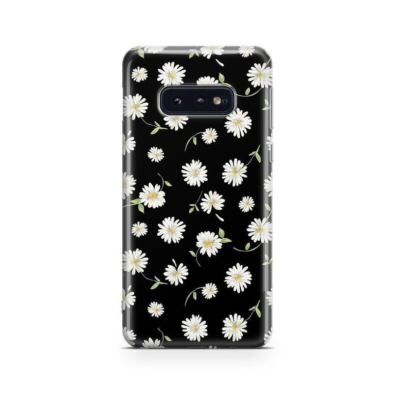 Daisy Daydream Black Floral Case iPhone Case Get.Casely Classic Galaxy S10E