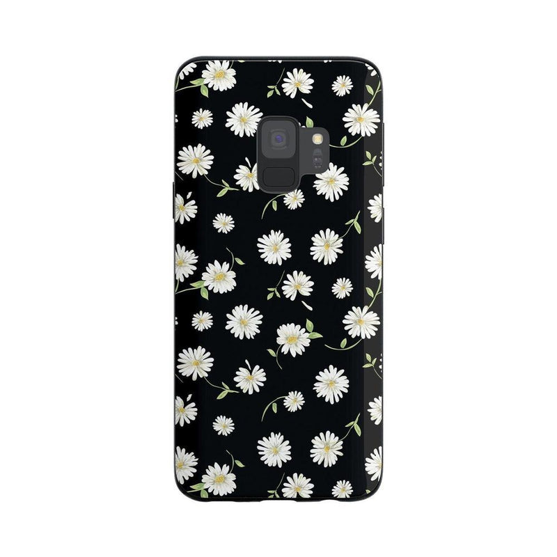 Daisy Daydream Black Floral Case iPhone Case Get.Casely Classic Galaxy S9