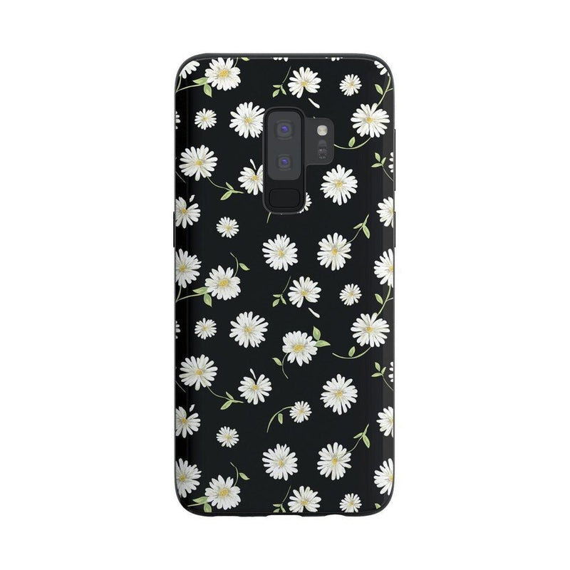 Daisy Daydream Black Floral Case iPhone Case Get.Casely Classic Galaxy S9 Plus