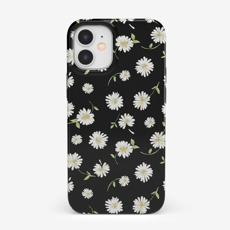 Daisy Daydream Black Floral Case iPhone Case get.casely Classic iPhone 12 Mini