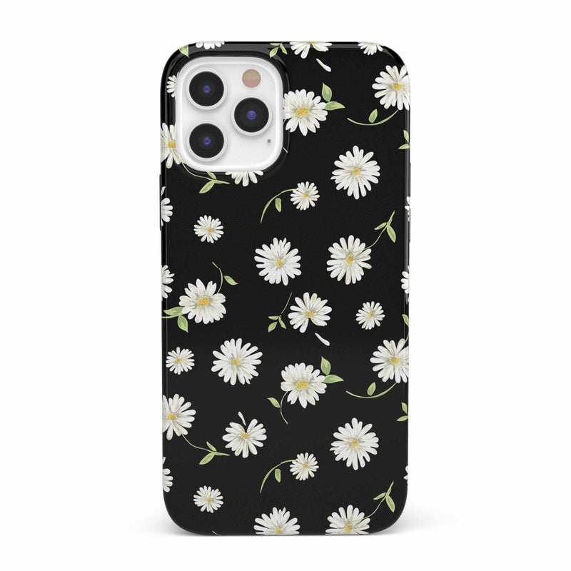 Daisy Daydream Black Floral Case iPhone Case get.casely Classic iPhone 12 Pro