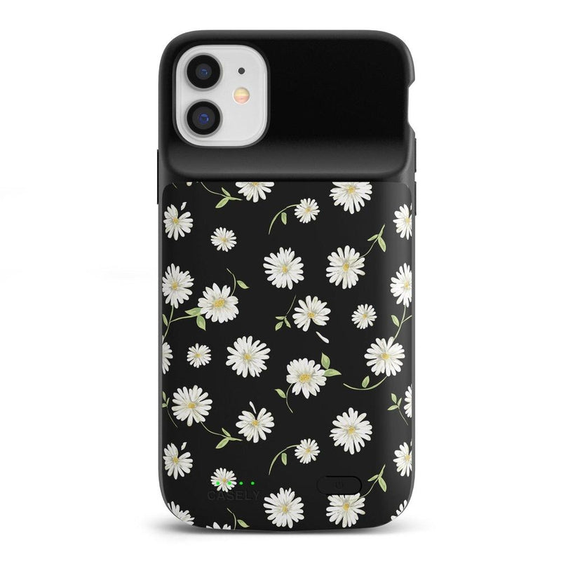 Daisy Daydream Black Floral Case iPhone Case get.casely Power 2.0 iPhone 11