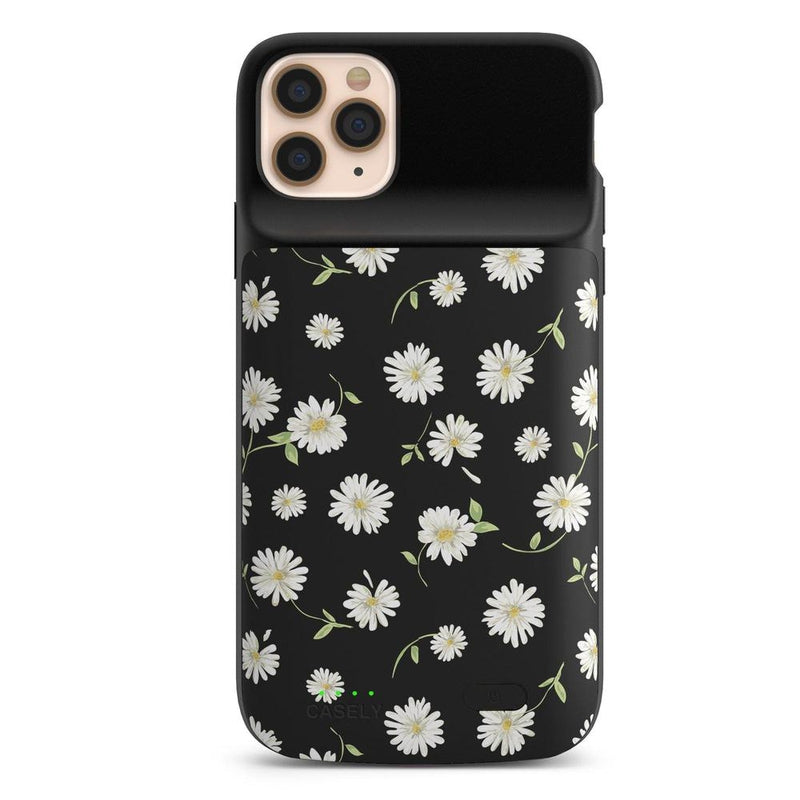 Daisy Daydream Black Floral Case iPhone Case get.casely Power 2.0 iPhone 11 Pro Max