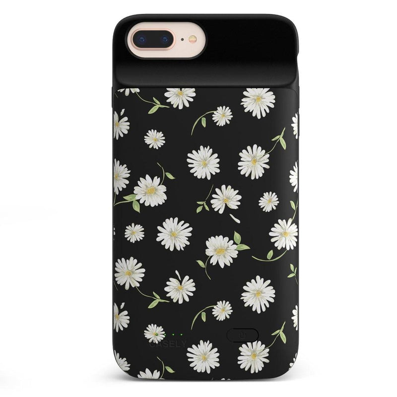 Daisy Daydream Black Floral Case iPhone Case get.casely Power 2.0 iPhone 8 Plus