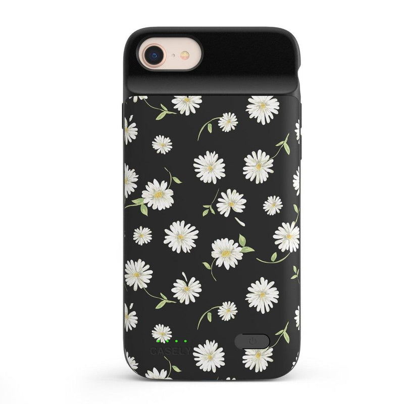 Daisy Daydream Black Floral Case iPhone Case get.casely Power 2.0 iPhone SE (2020)