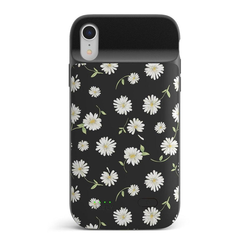 Daisy Daydream Black Floral Case iPhone Case get.casely Power 2.0 iPhone XR