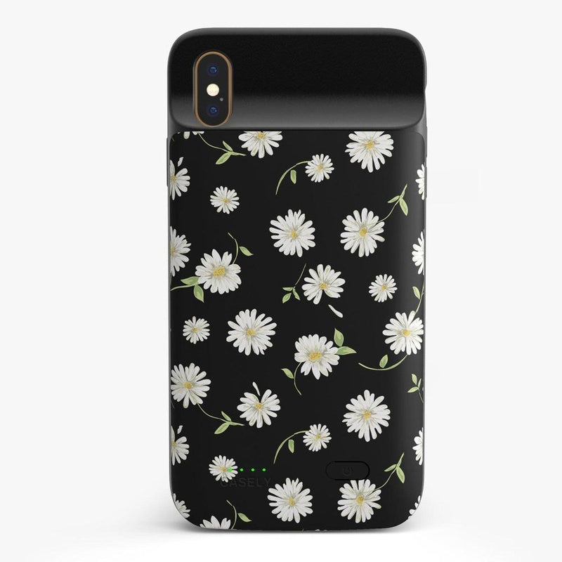 Daisy Daydream Black Floral Case iPhone Case get.casely Power 2.0 iPhone XS Max