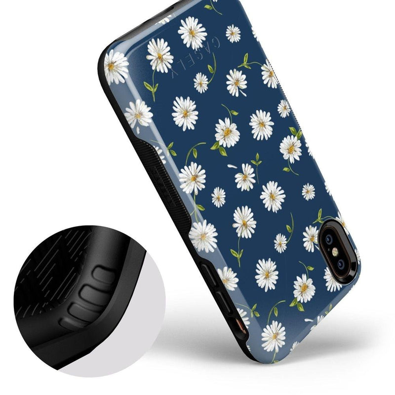 Daisy Daydream Navy Floral Case iPhone Case Get.Casely
