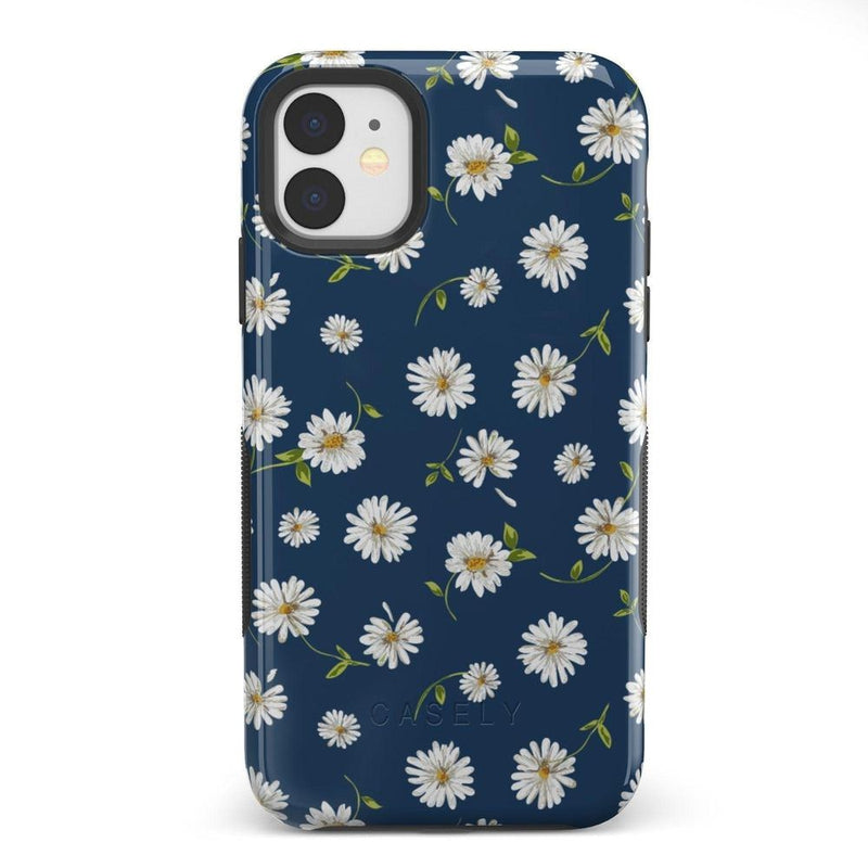Daisy Daydream Navy Floral Case iPhone Case Get.Casely Bold iPhone 11