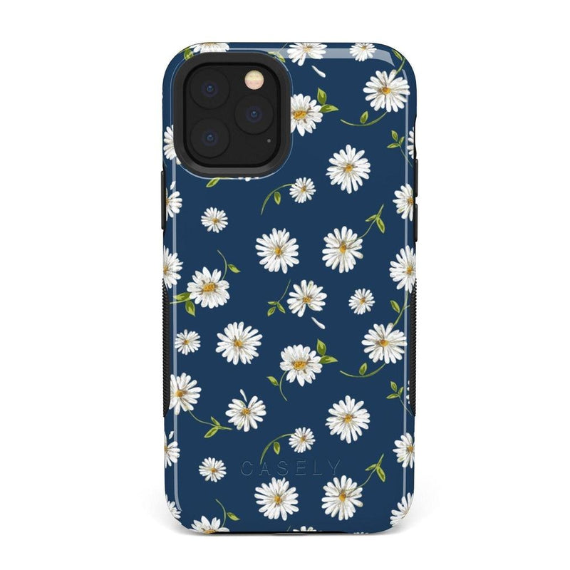 Daisy Daydream Navy Floral Case iPhone Case Get.Casely Bold iPhone 11 Pro Max