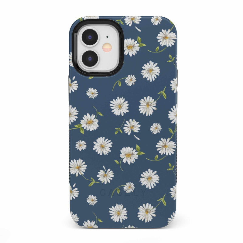 Daisy Daydream Navy Floral Case iPhone Case get.casely Bold iPhone 12 Mini