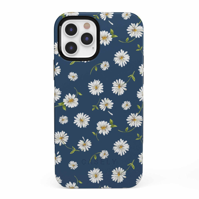 Daisy Daydream Navy Floral Case iPhone Case get.casely Bold iPhone 12 Pro