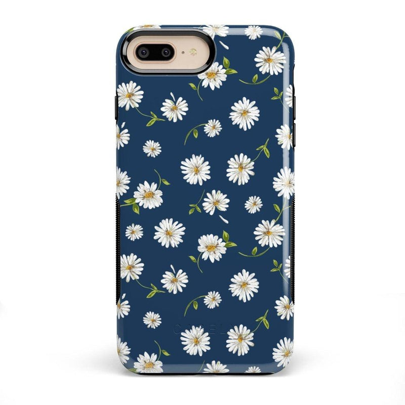 Daisy Daydream Navy Floral Case iPhone Case Get.Casely Bold iPhone 8 Plus
