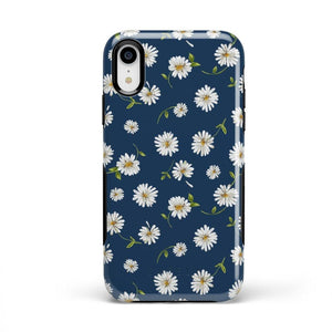 Daisy Daydream Navy Floral Case iPhone Case Get.Casely Bold iPhone XR
