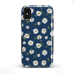 Daisy Daydream Navy Floral Case iPhone Case Get.Casely Bold iPhone XS Max