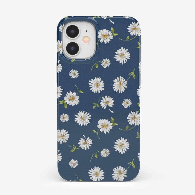 Daisy Daydream Navy Floral Case iPhone Case get.casely Classic iPhone 12 Mini