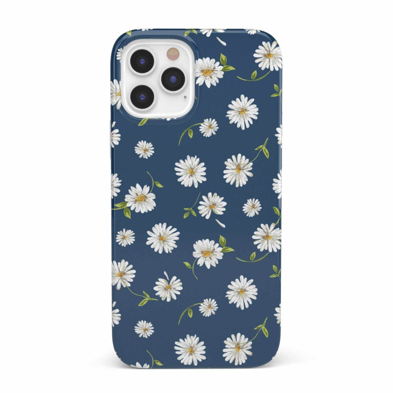Daisy Daydream Navy Floral Case iPhone Case get.casely Classic iPhone 12 Pro