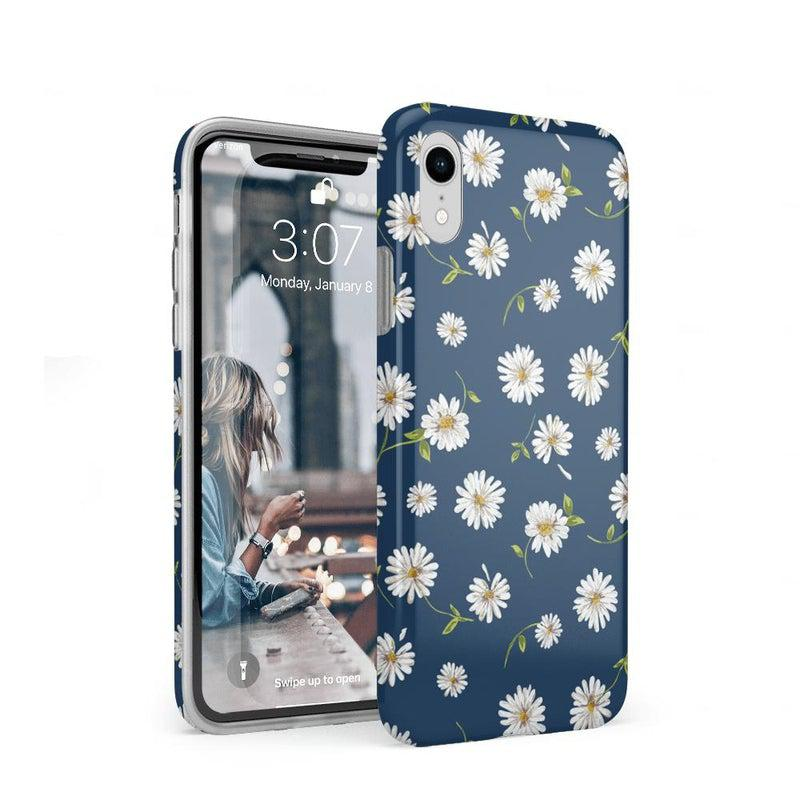 Daisy Daydream Navy Floral Case iPhone Case get.casely Classic iPhone XR