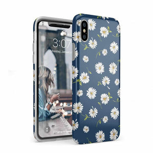 Daisy Daydream Navy Floral Case iPhone Case Get.Casely Classic iPhone XS Max