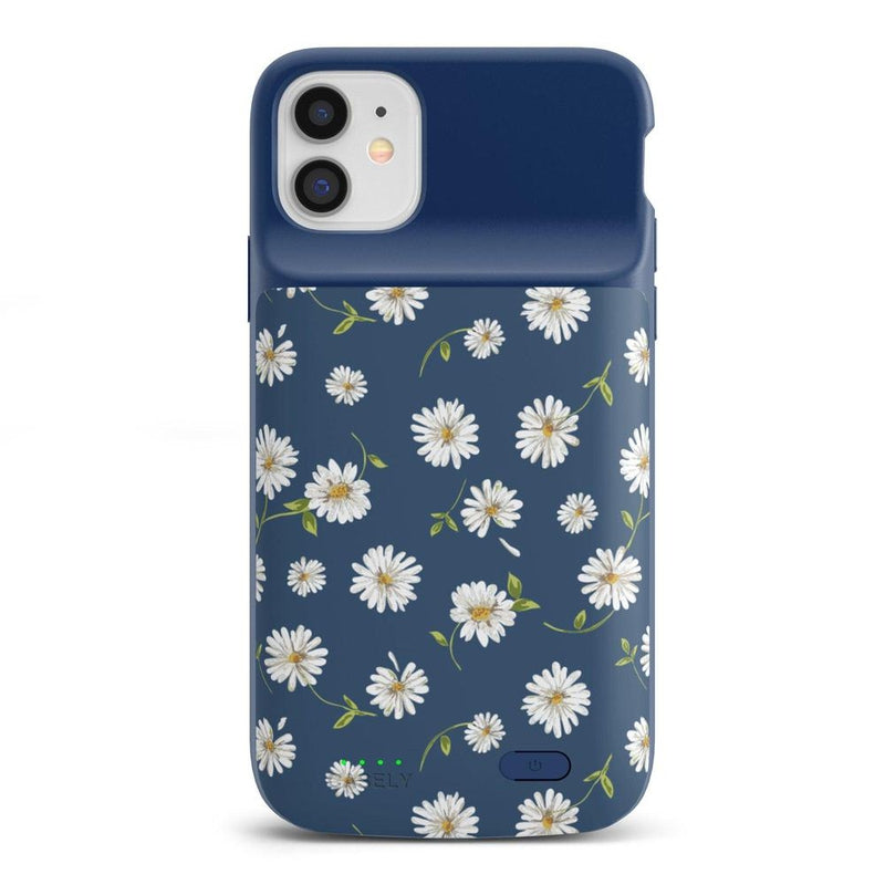 Daisy Daydream Navy Floral Case iPhone Case get.casely Power 2.0 iPhone 11