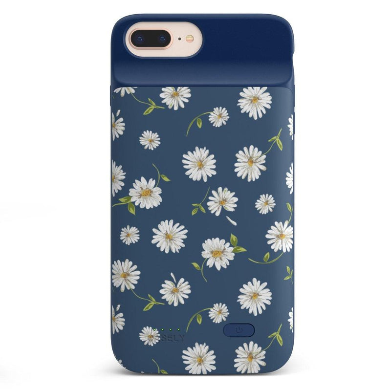Daisy Daydream Navy Floral Case iPhone Case get.casely Power 2.0 iPhone 8 Plus